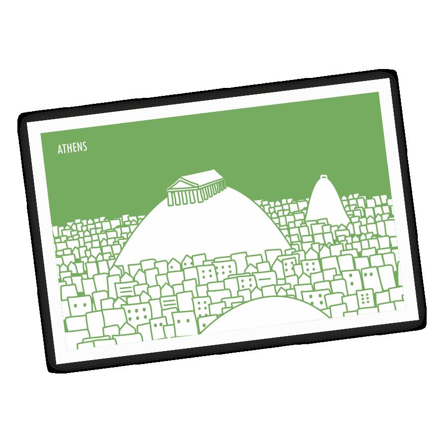 athens-postcard