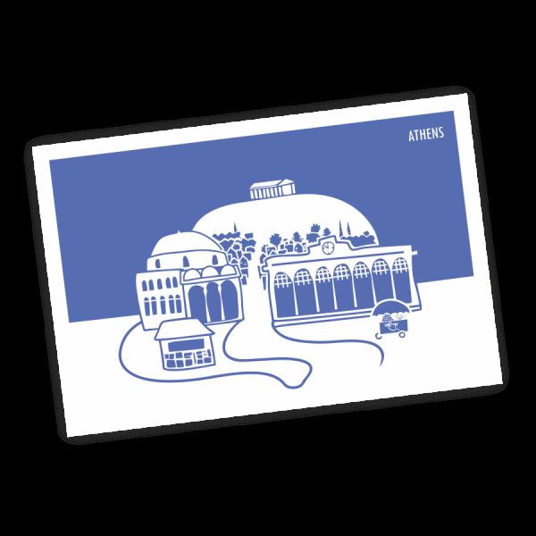 monastiraki-postcard