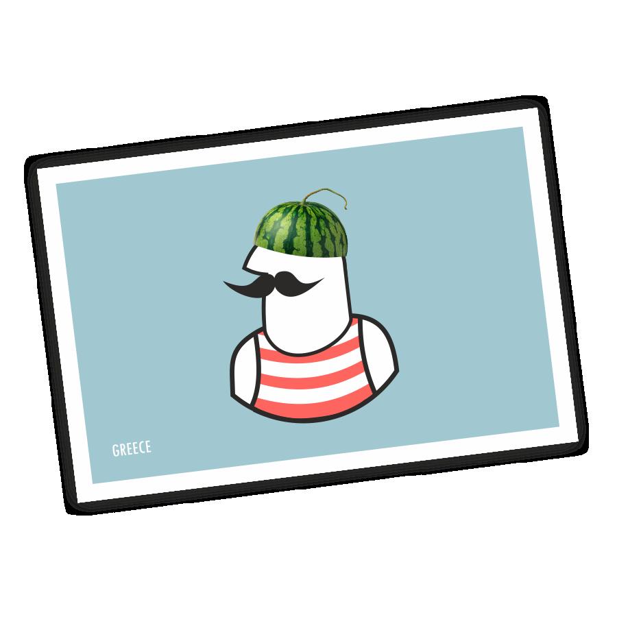 postcard-watermelon-man