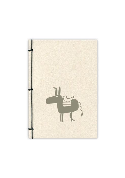 Donkey-notebook-A6