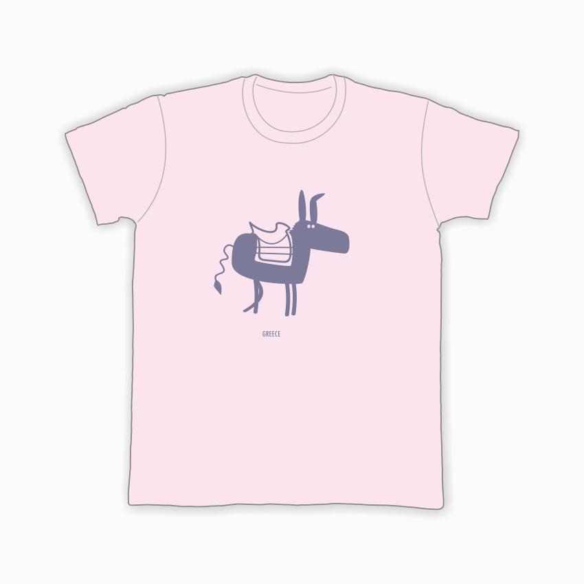 donkey-t-pink