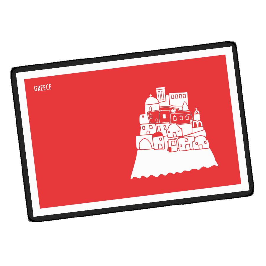 greek-island-castle-postcard